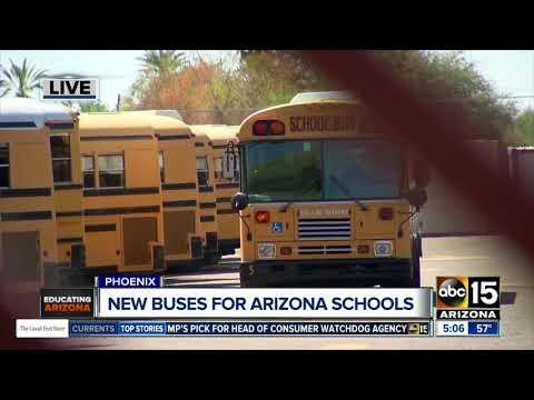 New buses for Arizona schools