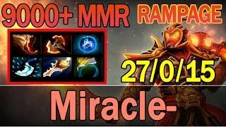 Dota 2 - Miracle- Plays Ember Spirit 9000+ MMR | Ranked Match