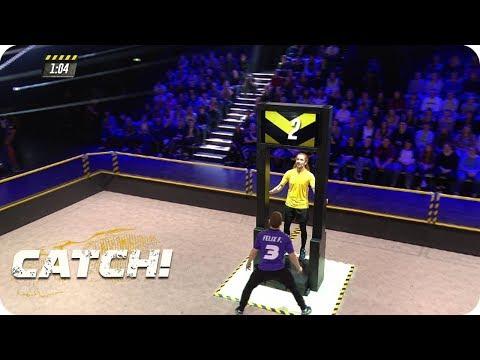 Top Start für Team von Tatortkommissar - CATCH! Die Deutsche Meisterschaft im Fangen