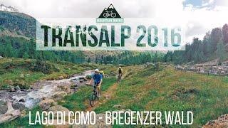 MTB Transalp 2016 | Lago di Como - Bregenzer Wald | GoPro