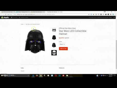 Shopify Tutorial For Beginners - How Product Pages Will Look And Modifying Product Listings thumbnail