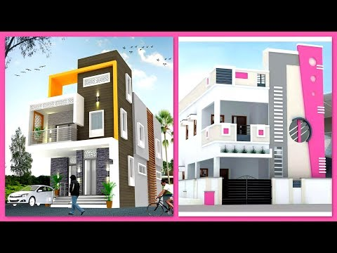 Modern Two Storey House Front Elevation Designs Two Floor House