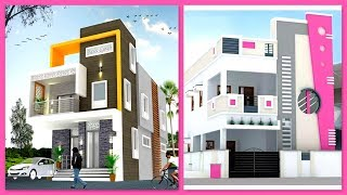 Modern Two Storey House Front Elevation Designs | Two Floor House Designs  Plan N Design