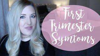 MY FIRST TRIMESTER   BLEEDING, PAIN, NAUSEA & SICKNESS   PREGNANCY UPDATE   JAN 2017