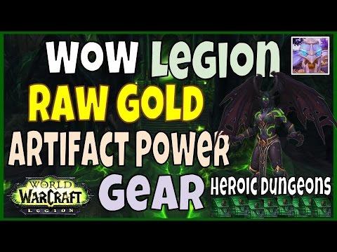 WoW Raw Gold Farming