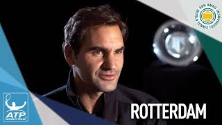 Federer Eyes Return To No. 1 At Rotterdam 2018