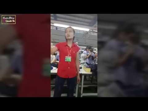 Clip Tổ Trưởng Chuyền May Công Ty Nam Yang chửi công nhân. Hot nhất mạng xã hội tuần qua