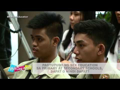 Iskoolmates Year 3: Pagtuturo ng Sex Education sa Primary at Secondary Schools, dapat o hindi dapat?