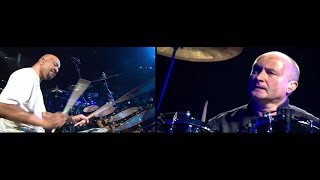 Dual Cam - Phil Collins and Chester Thompson (live 2004)