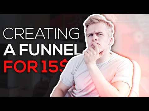 How To Create a funnel for 15$/Month (Better Than 90$/Month ClickFunnels)