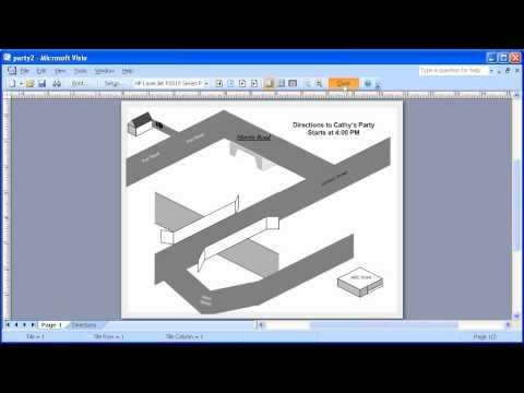 1.8 Microsoft Visio 2007: Printing