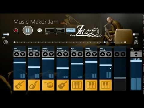 Windows Store App「Music Maker Jam」