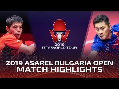Chuang Chih-Yuan Vs Zheng Peifeng   2019 ITTF Bulgaria Open Highlights (R32)