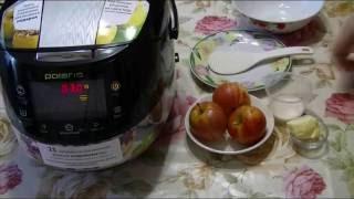 Домашние видео рецепты - глазированные яблоки в мультиварке