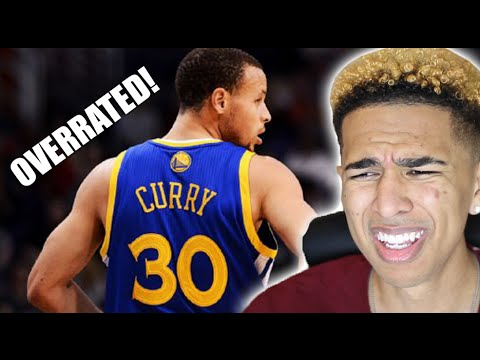 STEPHEN CURRY IS OVERRATED