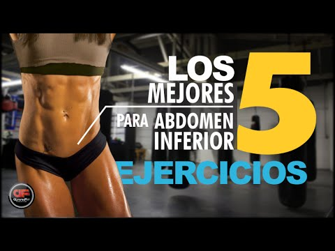 Los 5 Mejores ejercicios para el Abdomen Inferior