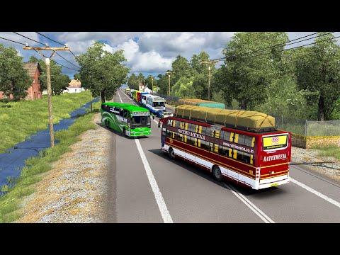 BUS SIMULATOR - Super Fast Bus driving & Dangerous Overtaking | PC Gameplay |