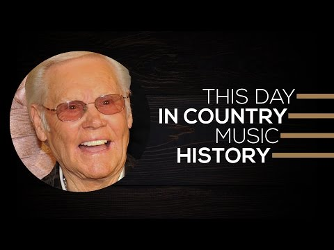 Kenny Chesney, George Jones, Eric Paslay | This Day In Country Music History