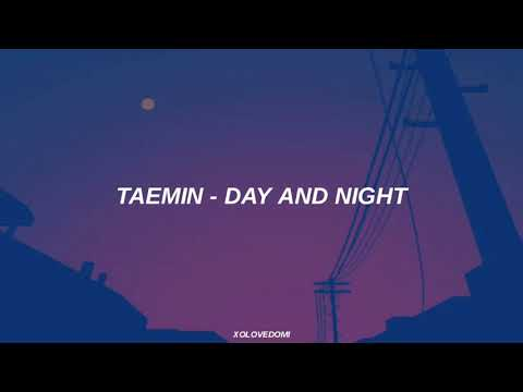Taemin - Day And Night // Sub Español