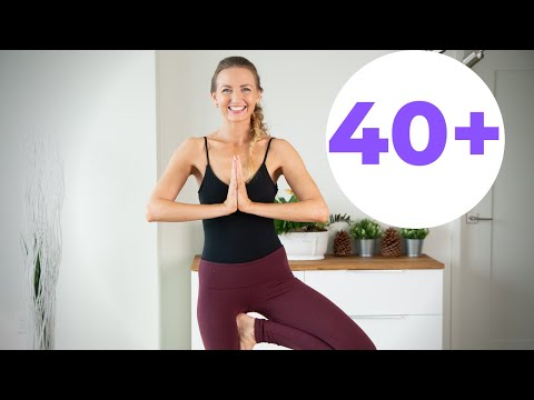 Beginner Morning Yoga for Women Over 40 (Yoga Safety & Alignment)