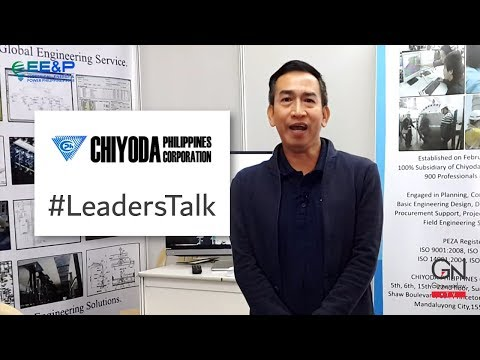 #LeadersTalk with CHIYODA Philippines Corporation