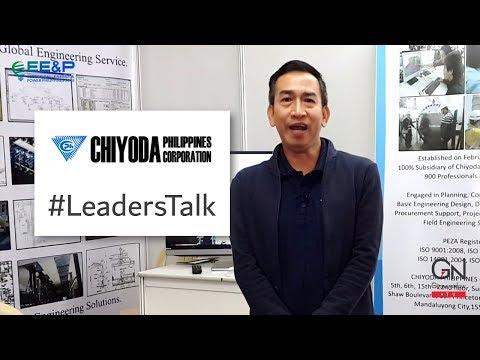 #LeadersTalk with CHIYODA Philippines Corporation, Rizalito Fabula