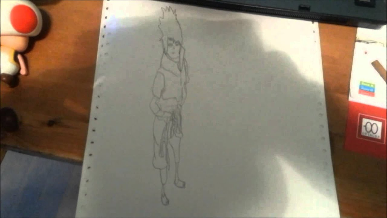Comment dessiner sasuke rinnegan 3d youtube - Comment dessiner sasuke ...