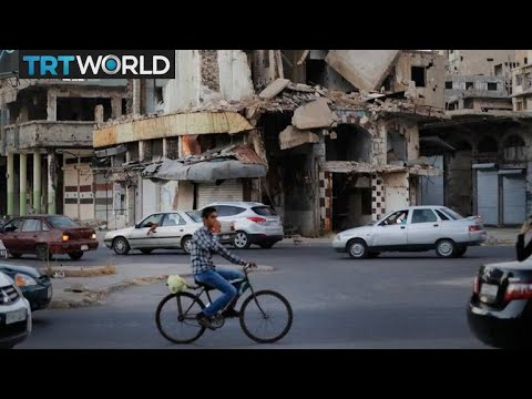 The War in Syria: Syrians rebuild homes after stability returns