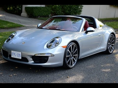 2015 Porsche 911 Targa 4 Review Youtube