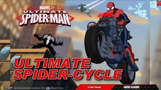 Игра Человек Паук Спайдерцикл Гарри веном green goblin и Електро против spider man смотреть  онлайн