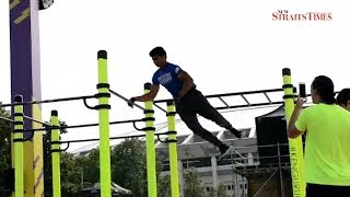 T'ganu boy powers through international calisthenics competition, wins 3rd spot
