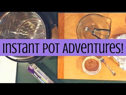 Instant Pot Adventures || Cinnamon Rolls? (Episode 1)