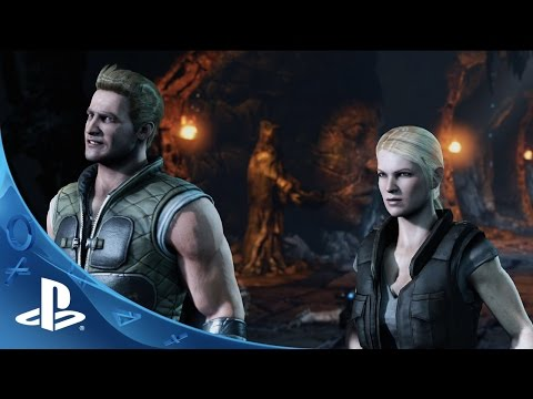 Mortal Kombat X: Official Cage Family Trailer | PS4