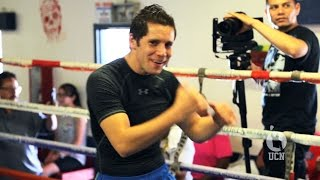 Carlos Cuadras and Jesus Soto Karass Open Workout - UCN EXCLUSIVE
