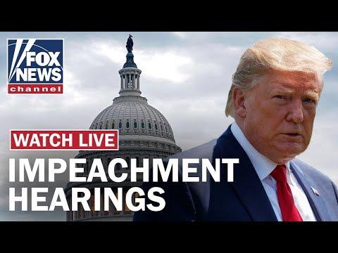Trump Impeachment Hearing Day 3