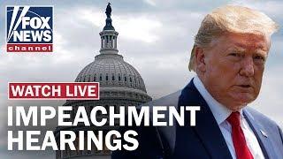 Fox News Live: Trump impeachment hearing Day 3