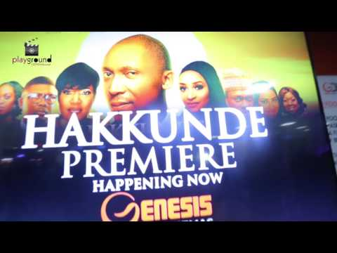 MOVIE PREMIERE 'HAKKUNDE' Produced By  OLUSEYI ASURF