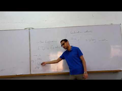 السيكشن الثامن ري م. محمد منعم Evapotranspiration calculation 2