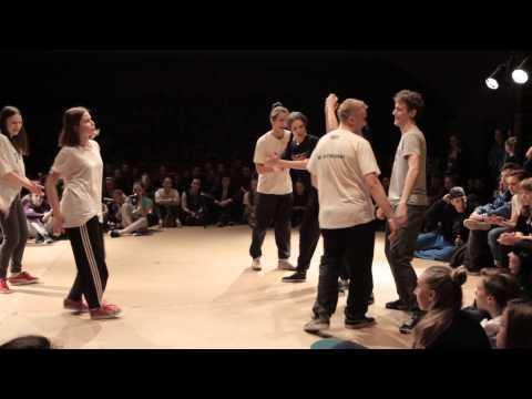 RISE UP 2015 Battles 5vs5 Quarterfinal Ghetto dance vs Ro Unique thumbnail