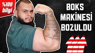 BOKS CHALLENGE YAPTIK!!! | Boks Makinesini Parçaladık Resmen ! | Fitness Motivation