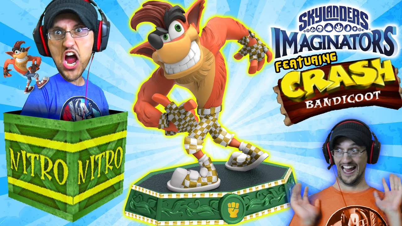CRASH BANDICOOT SKYLANDERS IMAGINATORS SENSEI! Crash Edition PS4 Gameplay Update NITRO HYPER SKYDAD
