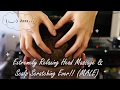 ASMR RELAXING HEAD MASSAGE & SCALP SCRATCHING (MALE) (VISUAL ONLY!!)