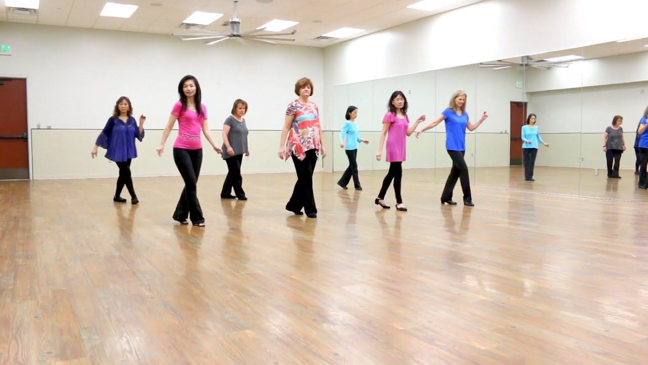 Reason To Stay - Line Dance (Dance & Teach in English & 中文)