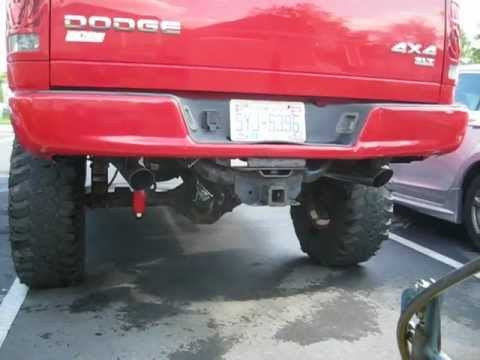 2004 Dodge Ram Hemi Slt 4x4 True Dual Exhaust Part 2 - YouTube