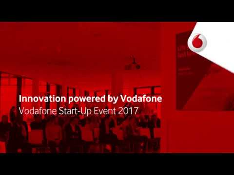 Innovation powered by Vodafone: Vodafone Start-Up Event 2017