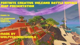 Fortnite Creative Volcano Battle Royale Map [UNIQUE] [SOLO AND DUO] [CODES IN DESC]