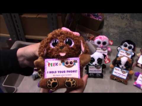 TY Peek-A-Boos - Spring 2016   Original Releases Review - BBToyStore.com ba7aca2cd65