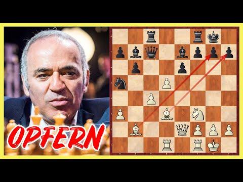 Weltmeister Brillieren    Garry Kasparov Vs. Lajos Portisch    Niksic 1983
