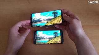 Samsung Galaxy S8 plus + vs Galaxy S7 Edge Speed test Comparison