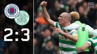 Torfeuerwerk im Old Firm: Rangers - Celtic 2:3 | Highlights | Scottish Premiership | DAZN